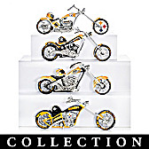 Pittsburgh Steelers Motorcycle Figurine Collection