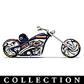 Chicago Bears Motorcycle Figurine Collection