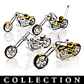 Green Bay Packers Motorcycle Figurine Collection