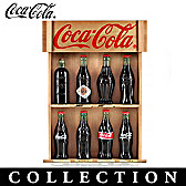 The COCA-COLA Replica Bottle Figurine Collection