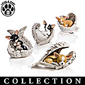 Paw Prints From Heaven Chihuahua Figurine Collection