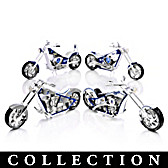 Kansas City Royals Motorcycle Figurine Collection