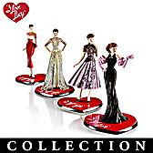 I LOVE LUCY 65th Anniversary Fashion Figurine Collection