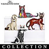 Disney Nightmare Before Christmas Cats Figurine Collection