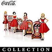 Rockin' With COCA-COLA Figurine Collection