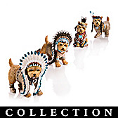Feathers 'N Fur Yorkie Figurine Collection