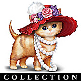 Red Hot & Fab-purr-lous Divas Figurine Collection