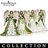 Thomas Kinkade's Eternal Love Angels Figurine Collection