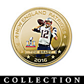Patriots Super Bowl LI Champions Dollar Coin Collection