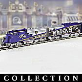 Baltimore Ravens Express Train Collection