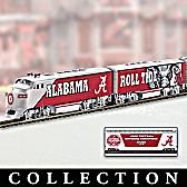 University Of Alabama Crimson Tide Express Train Collection