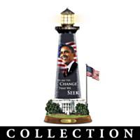 Barack Obama Message Of Hope Lighthouse Sculpture Collection