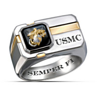 For My Marine Men's Ring