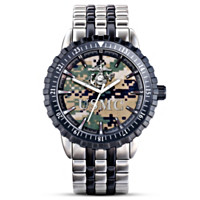 Marine Corps Pride Men's Camo Watch