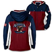 America - Land Of The Free Hoodie