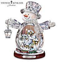 Thomas Kinkade Snowman Figure