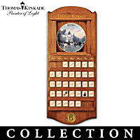 Thomas Kinkade Simpler Times Plate Calendar Collection