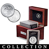 Complete U.S. Morgan Silver Dollar Coin Collection