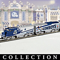 Dallas Cowboys Express Train Collection