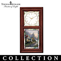 Thomas Kinkade Time For All Seasons Clock Collection