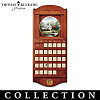 Thomas Kinkade Simpler Times Plate Calendar Collection