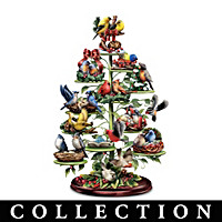 Holiday Tweets Tabletop Tree Collection