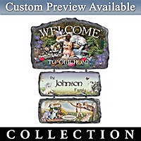 Cozy Companions Personalized Welcome Sign Collection