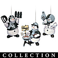 Las Vegas Raiders Coolest Fans Ornament Collection