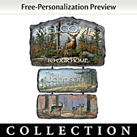 Welcome To The Wilderness Welcome Sign Collection