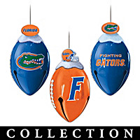 Florida Gators FootBells Ornament Collection