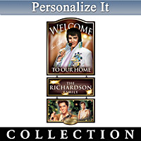 Elvis Presley Personalized Wall Decor Collection