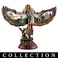 Spirit Of The Warrior Sculpture Collection