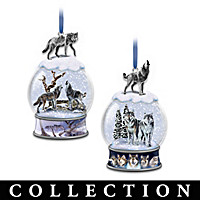 Untamed Spirits Ornament Collection
