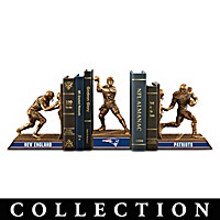 New England Patriots Legacy Bookends Collection