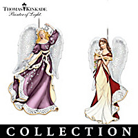 Thomas Kinkade Heaven Sent Ornament Collection