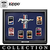 Generations Of Muscle Mustang Zippo® Lighter Collection