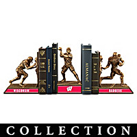 Wisconsin Badgers Football Legacy Bookends Collection