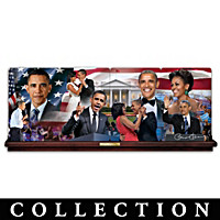 America\'s First Couple Collector Plate Collection