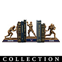 Houston Texans Legacy Bookends Collection