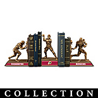 Washington Redskins Legacy Bookends Collection