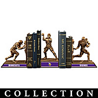 Minnesota Vikings Legacy Bookends Collection