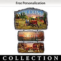 Farmall Traditions Personalized Welcome Sign Collection