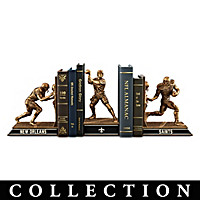 New Orleans Saints Legacy Bookends Collection