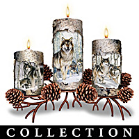 Winter's Glow Candleholder Collection