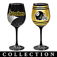 Pittsburgh Steelers Wine Glass Collection