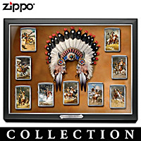 Thunder Across The Plains Zippo® Lighter Collection
