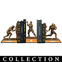 Clemson Tigers Football Legacy Bookends Collection