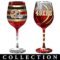 San Francisco 49ers Wine Glass Collection