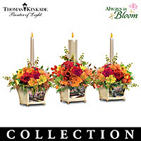 Thomas Kinkade Autumn Blessings Centerpiece Collection