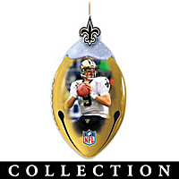 New Orleans Saints FootBells Ornament Collection